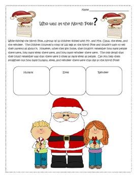 December Fun Printables