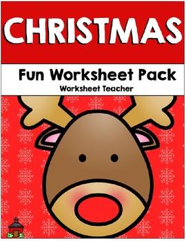 December Fun Worksheet Pack
