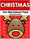 Christmas Fun Worksheet Pack