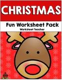 Christmas Fun Worksheet Pack