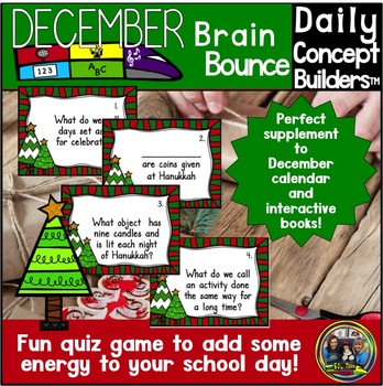 Christmas Around the World December Vocabulary Game