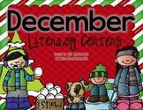 December Games and Centers {literacy centers}