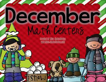 December Games and Centers {math centers}