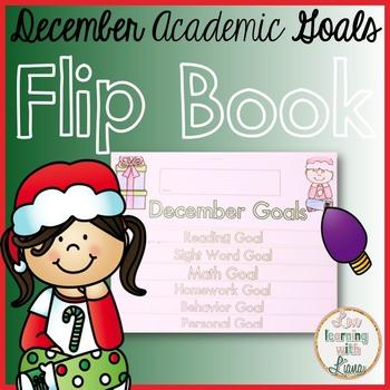 December Goals Flip Book