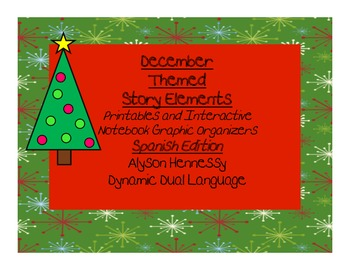 December Graphic Organizers SPANISH EDITION!