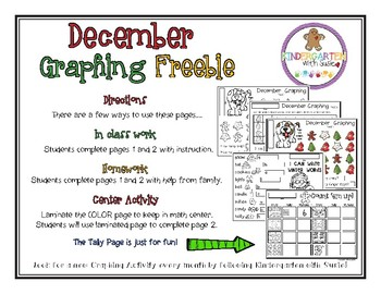 December Graphing Freebie