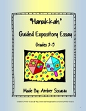 December Guided Expository Essay for Hanukkah with ELA CCSS