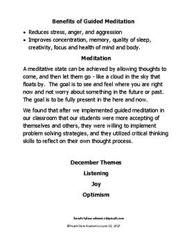 December Guided Meditation Bundle