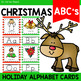 December Handwriting Practice and Alphabet Cards   Christmas