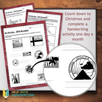 December Handwriting Workbook