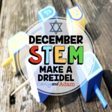 Make a Dreidel December Hanukkah STEM Activity (Chanukah)