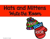 Hats and Mittens Write The Room