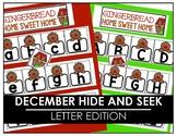 December Hide and Seek -  Letter Edition