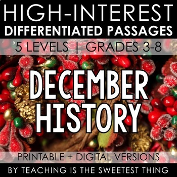 December Passages: History