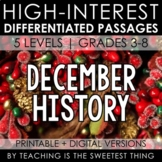 December Passages: History - Distance Learning Compatible
