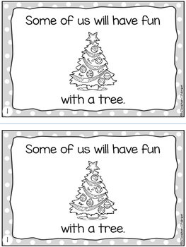 December Holiday Fun! A mini sight word reader