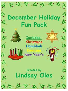 December Holiday Fun Pack