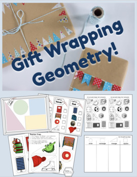 December / Holiday: Gift-Wrapping Geometry / Shape Sort