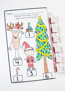December Holiday Helper For Kindergarten Just Print, No Prep Unit!
