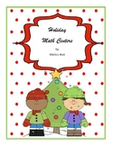 December Holiday Math Centers