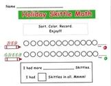 December Holiday Skittle Math