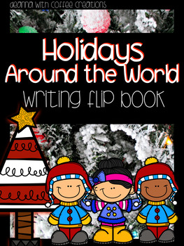 December/Holiday Themed Writing Flip Books {17 options!}