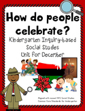 December Holiday Traditions Social Studies Kindergarten