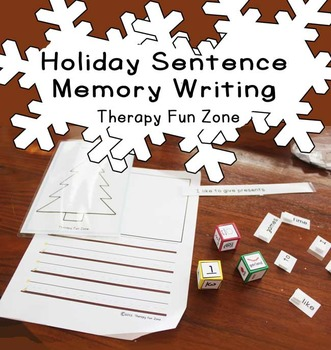 December Holiday Writing