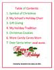 CCSS December Holiday Writing Bundle