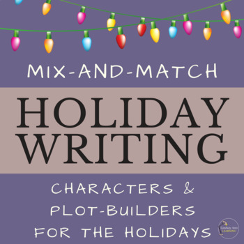 December Holiday Writing Prompts Community Building Activity