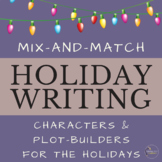Christmas Holiday Writing Prompts Community Building Activity
