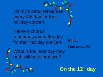 December Holiday ppt 5th Grade