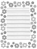 December Holiday/Winter Creative Writing Paper