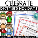December Holidays Activities Nonfiction Reading