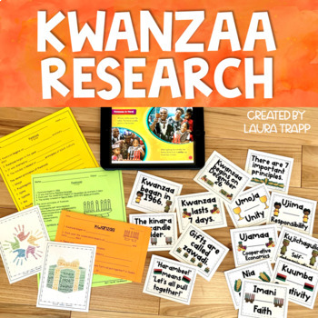 December Holiday Mini Research Project K-5:  Hanukkah and Kwanzaa