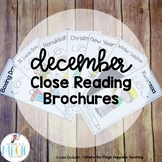 December Holidays Close Reading Passages with Questions
