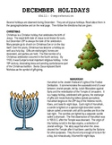 December Holidays Comprehension