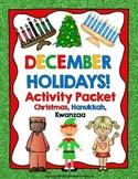 December Holidays ELA CCSS Activities Packet : 1-2