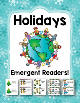 December Holidays Emergent Readers!