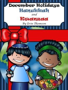 December Holidays ~ Hanukkah and Kwanzaa Mini Unit
