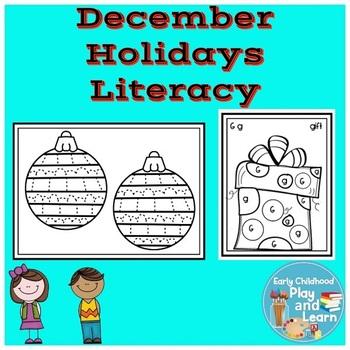 December Holidays Literacy Activities