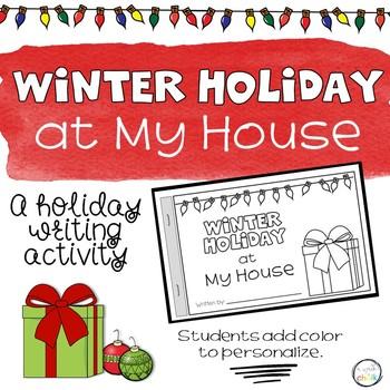 December Holidays Mini Book