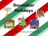 December Holidays Powerpoint (Christmas, Hanukkah, Ramadan