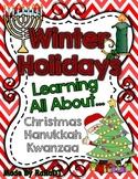 Winter Holidays! {Learning All About Kwanzaa, Hanukkah, an