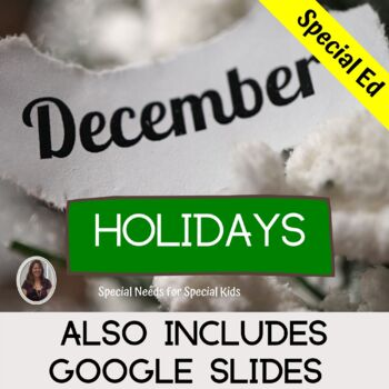 December Holidays Unit for Special Education