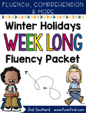 Winter Holidays Week Long Fluency Packet