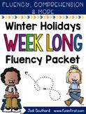 Winter Holidays Week Long Fluency Packet
