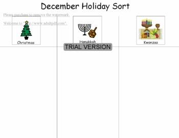 December Holidays mini-unit
