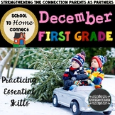 December Homework Packet: 1st Grade