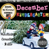 December Homework Packet - Kindergarten